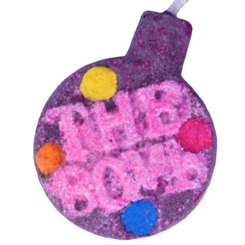 Fizzy Rascal Watercolour Kaolin Clay Bath Bomb
